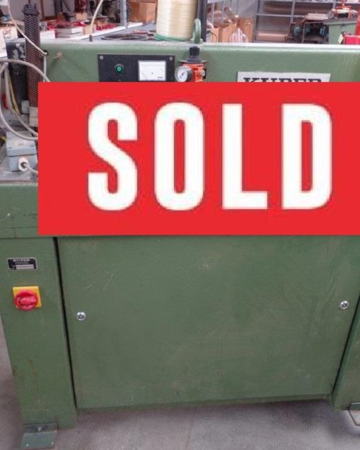giuntatrice KUPER FW900_sold