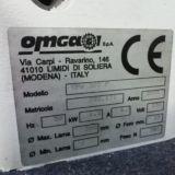 Sega troncatrice per cornici OMGA modello TPV 300 P